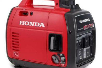 Genset 1 Phase Dari Honda Dengan Tipe Silent